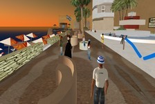 The Tel Aviv Promenade (image from the Jerusalem Post)