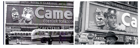 Camel Billboards of the 1950s