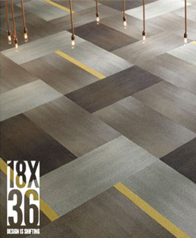 18 X 36 by Shaw Contract Group, Best of NeoCon2010 Awards, Modular Tile Silver Award