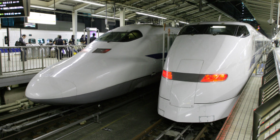 The Shinkansen Trains