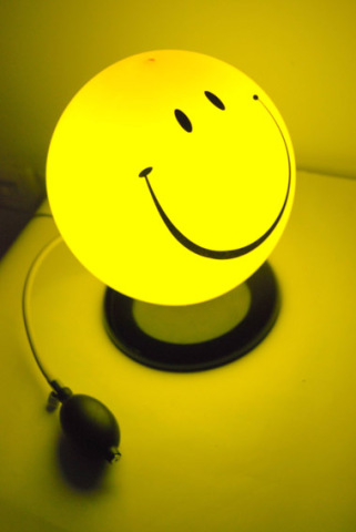 Smiley Face Lamp