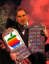 Steve Jobs and the Messiah Machine Tablets