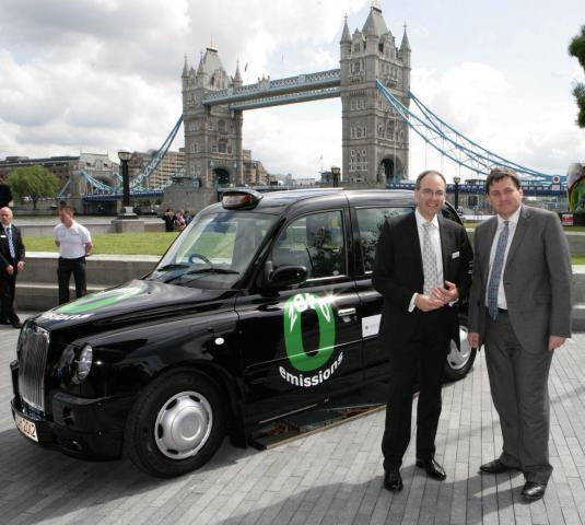 Hydrogen Powered Black Taxi