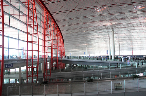 Terminal 3 Features A Very Modern Design Inside And Out
