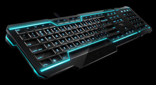 Razer&#039;s Tron Legacy Keyboard