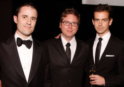 Evan Williams, Biz Stone & Jack Dorsey