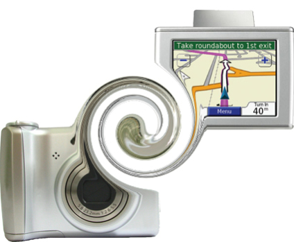 "Digital camera/GPS ""merger"""