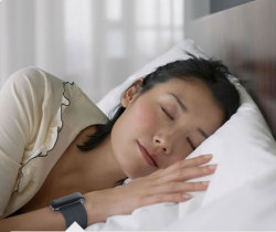 Fitbit Tracker monitors your sleep all night long.: ©Fitbit Inc.