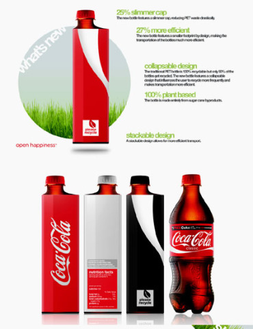 Eco Coke Bottle: ©Andrew Kim