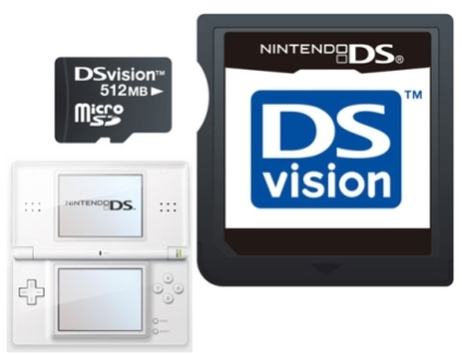 DSvision memory card