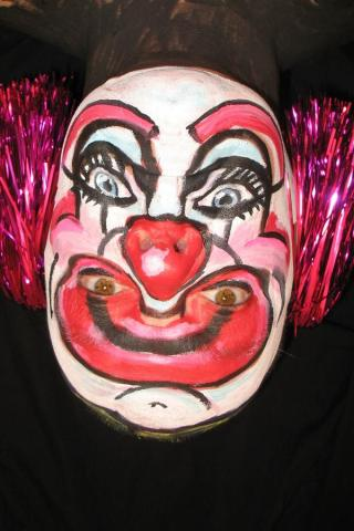 Upside Down Clown