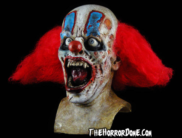 Horrifying Clown Mask