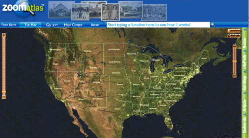 ZoomAtlas US Map