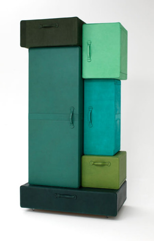 A Pile of Suitcases by Maarten de Ceulaer