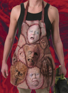 Apron of Skinned Faces