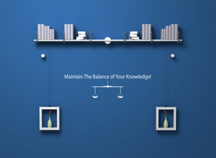 Maintain The Balance With One Smart Bookshelf
