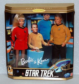 Boldly going where no Barbie has gone before...