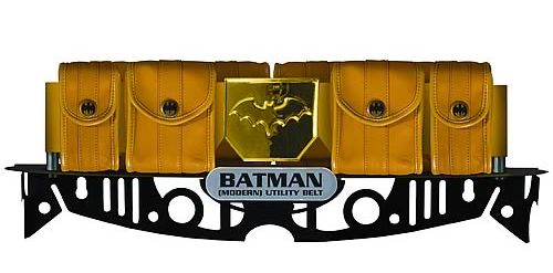 The JLA Trophy Room Batman Modern Utility Belt Prop Replica