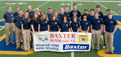 Baxter Bomb Squad Team