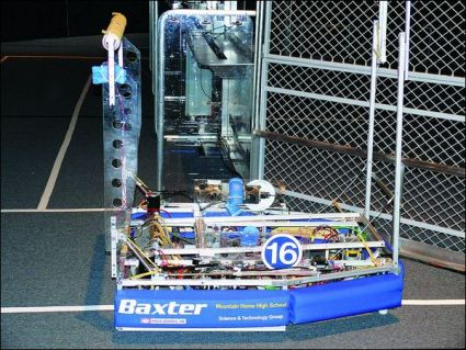 Baxter Bomb Squad Robot