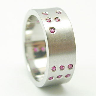 Binary Wedding Band