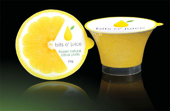 Bits O' Juice Frozen Lemon Segments