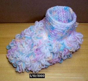 Floor cleaning booties you can make for baby!: Source:delphiforums.com