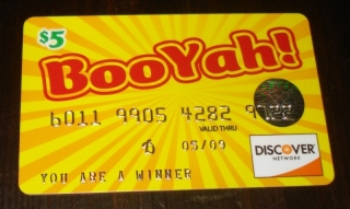 Booyah credit card