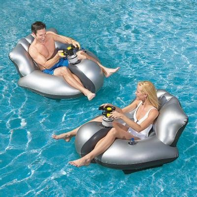 The Motorized Bumper Boat from Excalibur