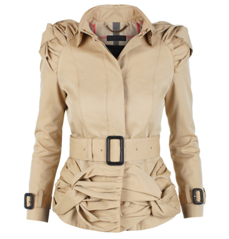 Studded Burberry Trench
