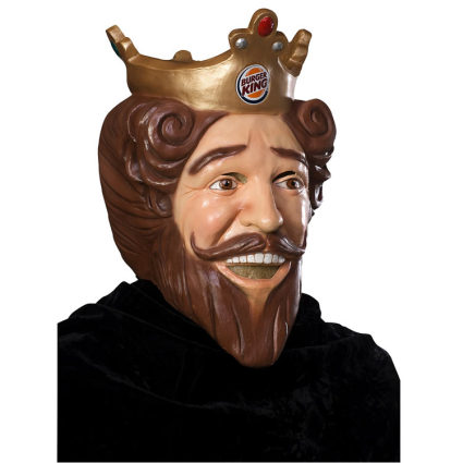 burger king king. The Burger King Mask