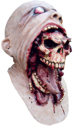 Gory Cannibalistic Halloween Mask