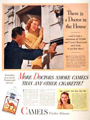 Camel Cigarettes, 1946