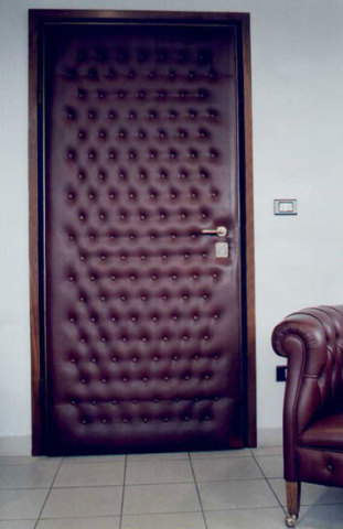 Padded door