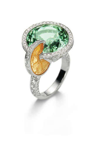 Piaget Limelite Paradise Cocktail Rings