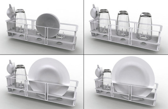 Instant Dishwasher rack: by Robert Lange in collaboration with Bosch