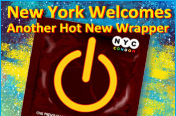 NYC Condom Wrapper - 2010 Design Winner: design by Luis Acosta