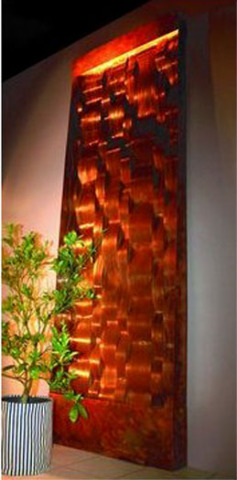 Nayer Kazemi Ripple Wall Fountain
