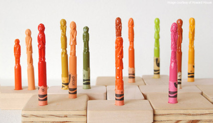 Storytelling Crayons installation view