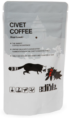 Civet Coffee (Kopi Luwak)