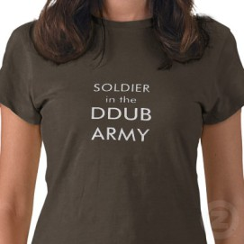 Donnie Wahlberg's Army t-shirt