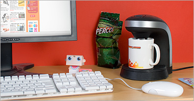 Desktop Coffee Maker 2