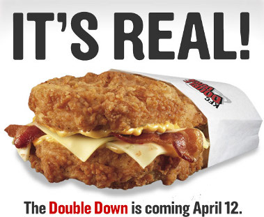 KFC's Double Down (It's real!)