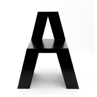 The A Chair from Roeland Otten's ABChairs: photography by Bas Helbers