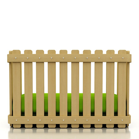 The Grass Is Always Greener On The Other Side Of The Fence: design by Christian Vivanco