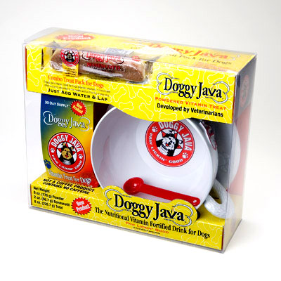 Doggy Java with Cappucino Cup Gift Pack