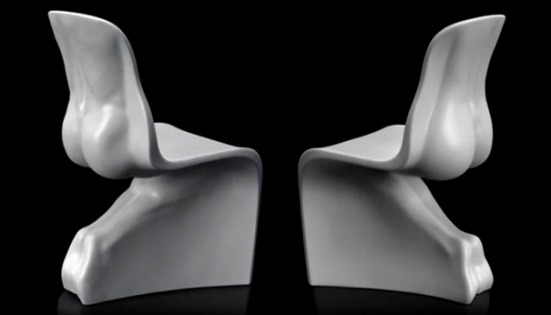 His & Hers Chairs by Fabio Novembre
