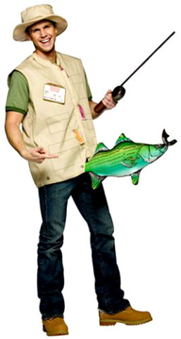 2009 39 s funniest adult halloween costumes for Fish costume for adults