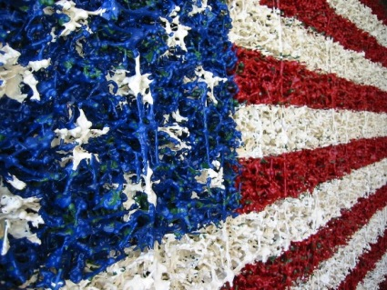 Memorial Flag (Toy Soldiers)