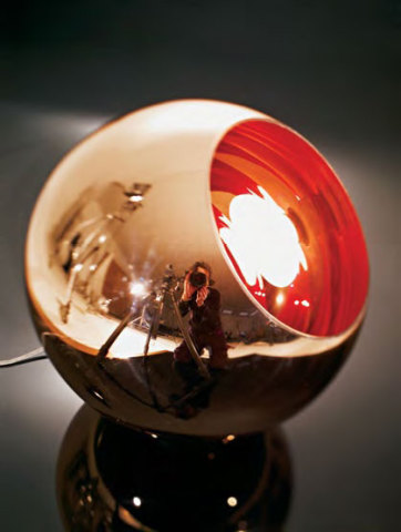 Copper Shade Floor Lamp by Tom Dixon: Tom Dixon